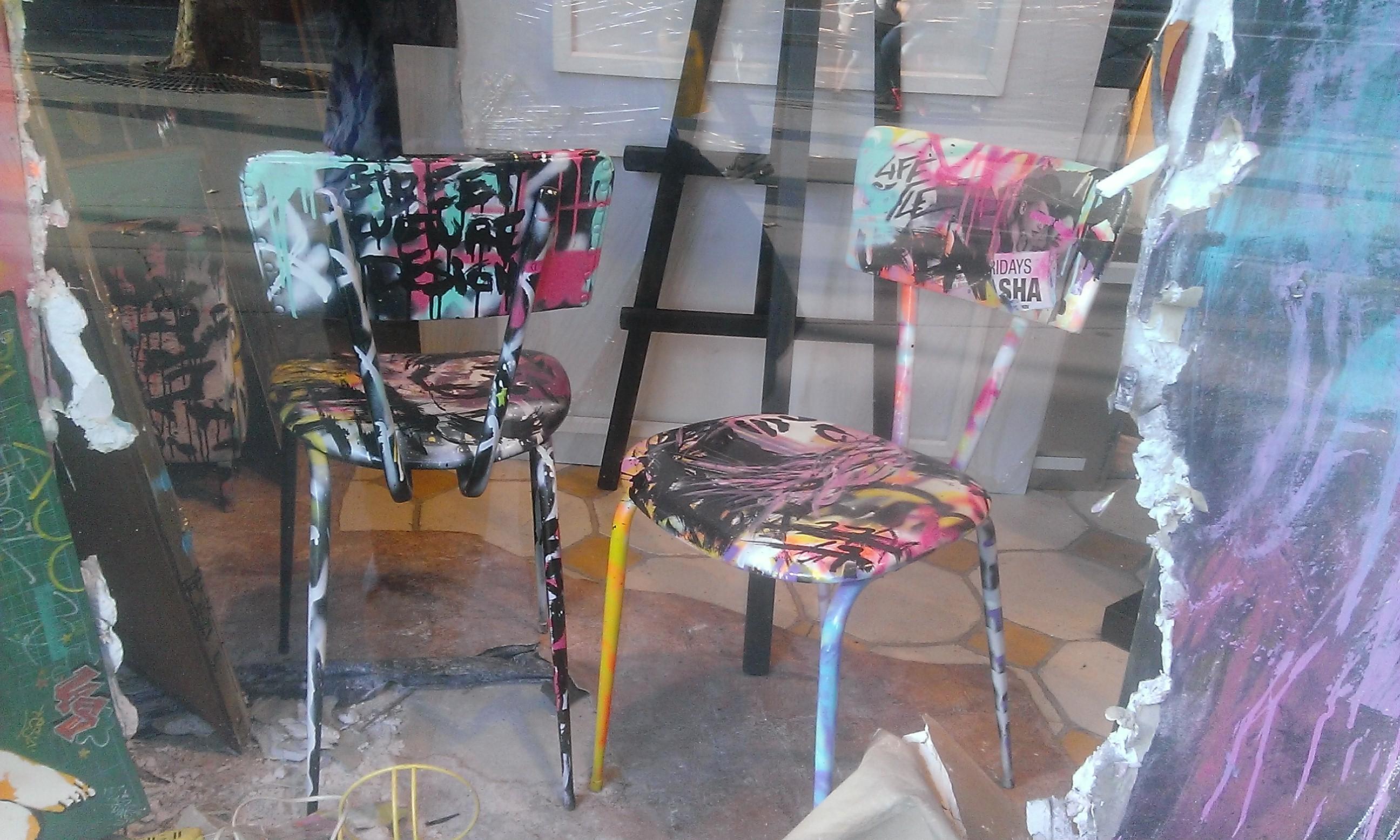 du street art dans votre d co architecture interieure conseil. Black Bedroom Furniture Sets. Home Design Ideas