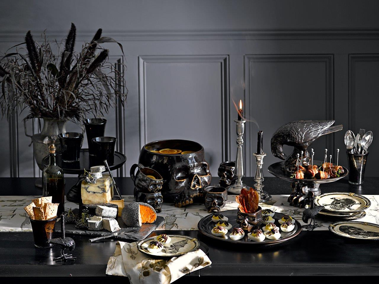 deco interieur maison halloween. Black Bedroom Furniture Sets. Home Design Ideas