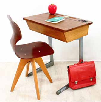 Comment am nager votre bureau pour tre plus efficace architecture interieure conseil - Bureau d ecolier vintage ...