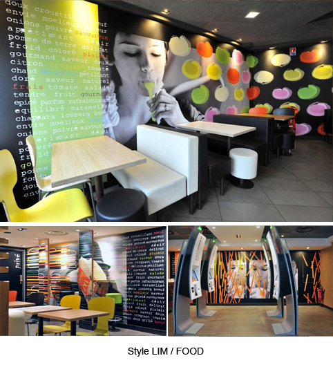 La deco des fast food architecture interieure conseil for Fast food decoration