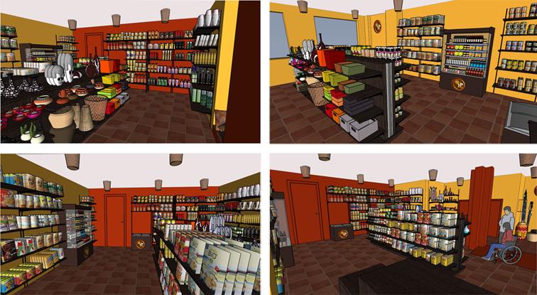 Déco ethnique : agencement boutique – épisode 2